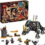 LEGO 71719 NINJAGO Zane's Mino-figuur 2-in-1 Bouwset en BordSpel met Ninja Poppetjes voor Kinderen van 7 Jaar en Ouder
