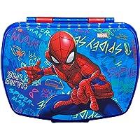 YUNA Spiderman Boîte à repas en plastique comestible pour enfants, motifs animés et super-héros