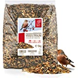 Rêve d'Oiseau - Vitalmix - Nourriture pour Oiseaux de Qualité Supérieure [5kg] I Graines pour Oiseaux Sauvages I Extra Protéi