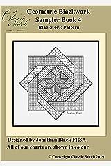 Geometric Blackwork Sampler Book 4 Blackwork Pattern Kindle Edition