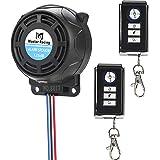 Rupse Inalámbrico Alarma Moto, Antirrobo Moto Alarma con Sistema de Control Remoto Dual a Prueba de Agua,Alarma Antirrobo de