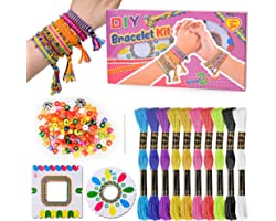 Oligo Kit de Bricolage pour Enfants pour La Conception Et La Fabrication de Bracelet d'Amitié - pour Le Cadeau du Meilleur Am