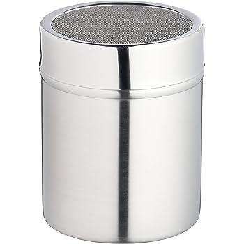 Kitchen Craft - Spargizucchero in acciaio INOX con coperchio