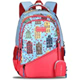 Lavie Sport Amsterdam Casual Backpack 40 Litres Sky Blue Casual Backpack BDEI376081M3