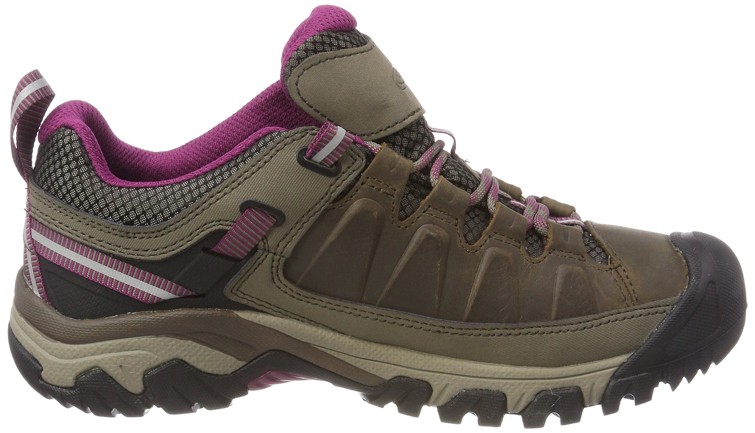81J3l8Ly6yL - KEEN Women's Targhee Iii Wp Low Rise Hiking Shoes, 9