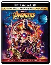 Avengers: Infinity War - UHD 4K + 3D BD + BD