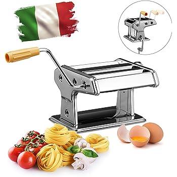 Machine A Pates Bremermann Inox Metal Rouge Pour Spaghettis