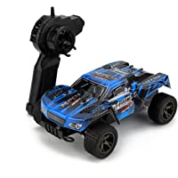 RC Cars,KINGBOT 20MPH/h 1:18 Scale 2.4Ghz High Speed Radio Control Die-Cast Off-Road Vehicle with 50M Remote Control…