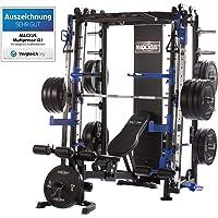 Maxxus Multipress 10.1 Station de Musculation Universelle –Power Cage à Squat -Barre d'Haltère Guidée –Banc de…
