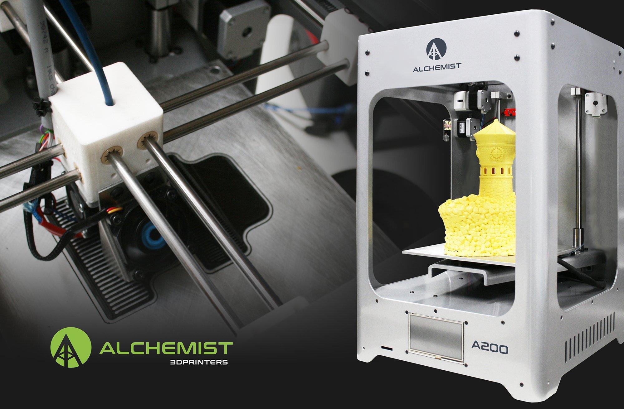 Impresora 3d Alchemist A200