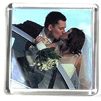 PC3721 @ Aimant pour réfrigérateur à Photos Transparent (5 pièces, 57x57mm)