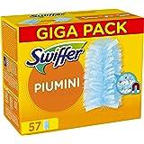 Swiffer Duster Piumini Cattura Polvere, 57 Panni, Cattura e Intrappola Polvere e Sporco, Ottimo per I peli di Animale, Per Tu