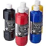 Textilfarbe, Primärfarben, 5 x 500 ml