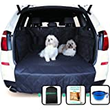 Car Boot Liners for Dogs - Boot Liner and Bumper Protector - 4 Layer Car Boot Cover - Heavy Duty Car Boot Liner with…
