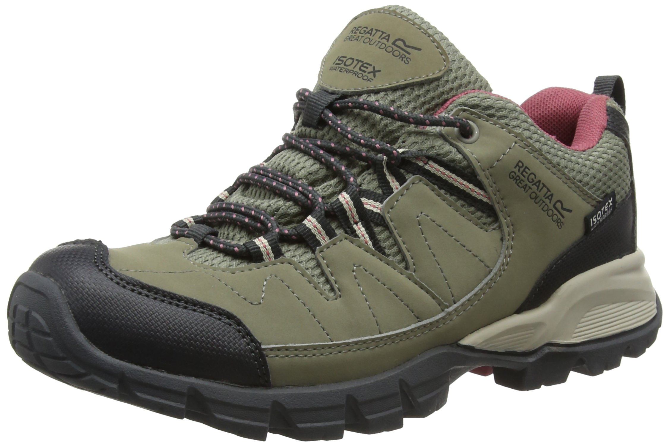 Regatta Lady Holcombe, Women's Low Rise Hiking Shoes 1