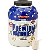 Weider Proteïnepoeder Premium Whey, aardbei - vanille, 2300 g