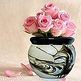 Niyara Ceramic Pot, Brown, 8 inches, 1 Piece