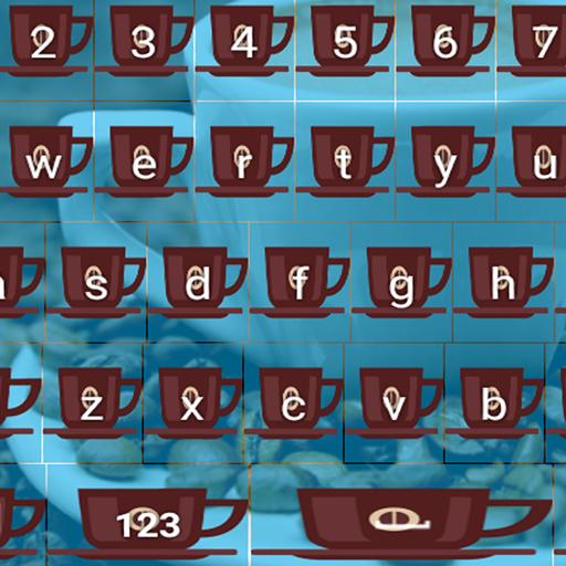 Schöne Kaffeetastaturen Design Schaum-cup