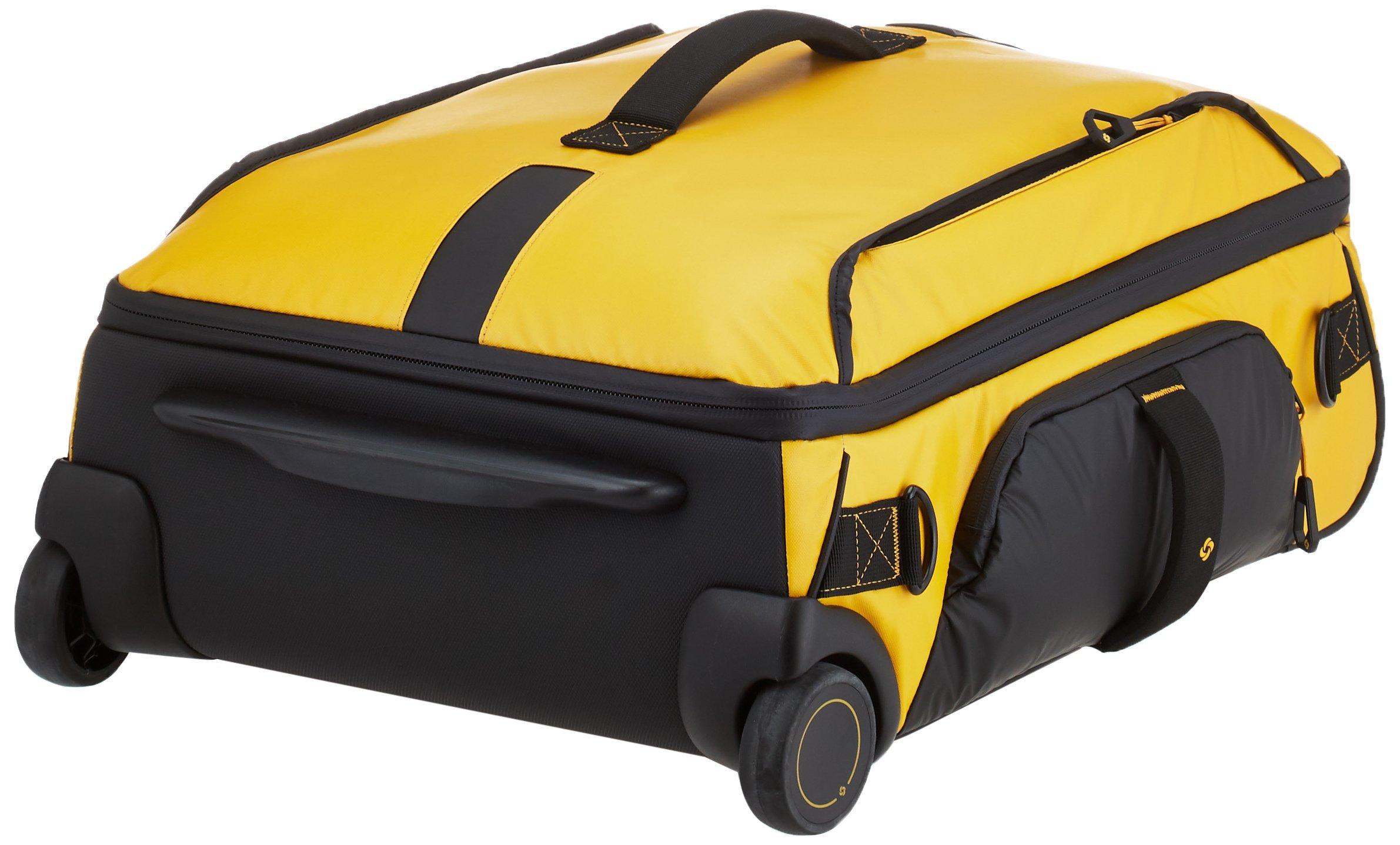 Samsonite Paradiver Light – Bolsa de viaje con ruedas, Amarillo (Yellow), S (55 cm – 48.5 L)