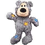 KONG - Wild Knots Bear - Corde Annodate, Imbottitura Minima, Meno Disordine (Vari Colori) - per Cani di Taglia Piccola…