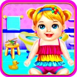 Babysitter Care Baby Game for Girls