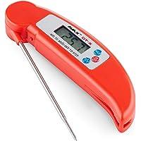 AVAX DT-X - Digital LCD Alimentaire Thermomètre sonde de cuisine Pliant pour l'eau, vin, aliments, de la viande, BBQ…