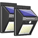Solar Lights Outdoor, iToncs Waterproof Wireless Motion Sensor Security Light Solar Powered Light Outdoor Wall Lights…