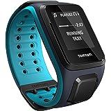 TomTom Runner 2 Music - Montre GPS - Bracelet Large Bleu Marine / Turquoise (ref 1REM.001.01)
