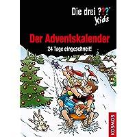 Die drei ??? Kids, Der Adventskalender: 24 Tage eingeschneit! Extra: Stickerbogen