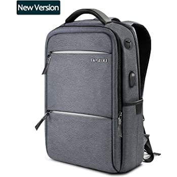 414415be8b243 BestoU Business Rucksack Herren Arbeit Laptop Tasche 15.6 Zoll wasserdicht  Modernist Anti-diebstahl Rucksack Frauen mit USB Regenschutzhülle für  Schule ...