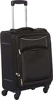 American Tourister Portland Softside Spinner Luggage Cabin trolley 55cm with TSA Lock - Black