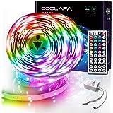 LED Strip 20M, COOLAPA LED Streifen, LED Band Steuerbar mit 44-Tasten Fernbedienung, LED Stripes Lights, 5050 RGB SMD 12V, fü