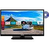 Telefunken Xf22G501Vd 55 cm (22 Tum) Tv-Apparat (, 12 V, Fungerar med Alexa) Svart