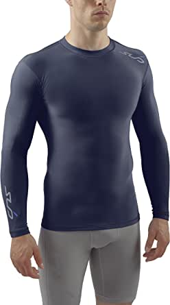 X Large Da Uomo Biancheria intima termica manica lunga Gilet T-shirt