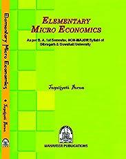 Elementary Micro Economics