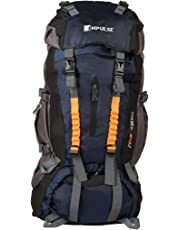 Impulse 85 Ltrs Blue Trekking Backpack (Thames N Blue)