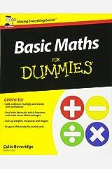 Basic Maths For Dummies (UK Edition) Paperback