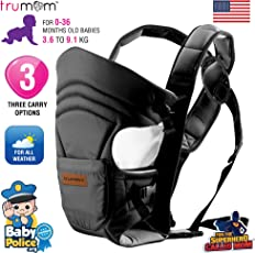 Trumom (USA) 3 in1 Baby Carrier for Kids 0 to 36 Months Old (Upto 9 Kg)