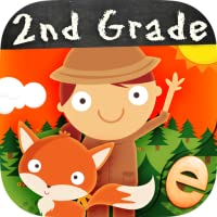 Animal Math Second Grade Math Games for Second Grade and Early Learners Premium Math Games for Kids in 1st 2nd 3rd Grade Learning Numbers, Counting, Addition and Subtraction