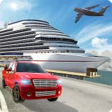 Offroad Cargo Transport Tycoon Sea Ship Simulator 3D: Real Euro Transporter Truck Driving Parking Simulation Adventure Game Free For Kids