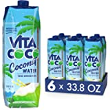 Vita Coco - Pure Coconut Water (1L x 6) - Naturally Hydrating - Packed with Electrolytes - Gluten Free - Full of Vitamin…
