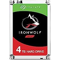 Seagate ST4000VNZ08 IronWolf Interne Festplatte für NAS-Systeme mit 1 - 8 Bay (3, 5 Zoll), 4 TB, silberfarben