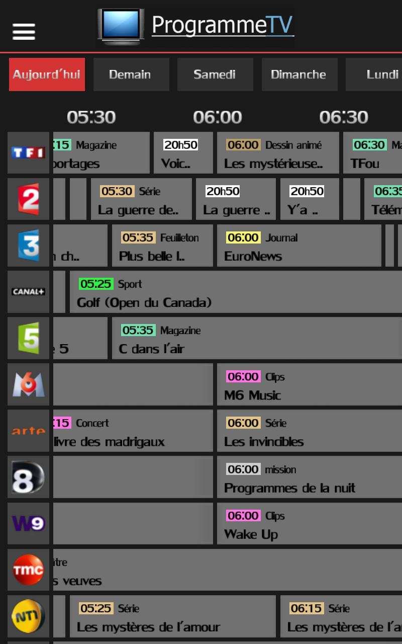 programme tv gratuit  amazon fr  appstore pour android