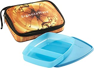 Signoraware Melody Big Slim Lunch Box with Bag