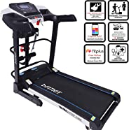 Fitkit FT200 Series (4.5 HP Peak) Motorized Treadmill withFree Dietitian,Personal Trainer, Doctor Consultation and  Installa