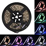 LED Streifen Supernight SMD 5050 LED Strip RGBW Lichterkette (RGB+Weiß) Wasserdicht IP65 16.4ft 5M 300LEDs LED Band Beleuchtung Band-Lampe [Strip ONLY]