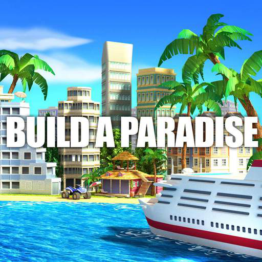 Tropic Paradise Sim: Town Building City Island Bay (Sim City Kostenlos)
