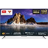 TCL 108 cm (43 inches) AI 4K Ultra HD Certified Android Smart LED TV 43P715 (Silver) (2020 Model)   With Remote Less Voice Co