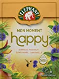 Elephant Infusion Mon Moment Happy 25 Sachets Pyramides - Lot de 4