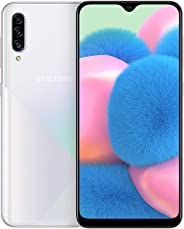 Samsung Galaxy A30s Dual SIM - 64GB, 4GB RAM, 4G LTE - White,UAE Version